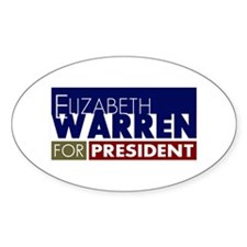 Elizabeth Warren for President V1 Decal