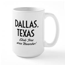 Ebola Free Mugs