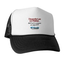 6 Crayons or Only 5??? Trucker Hat