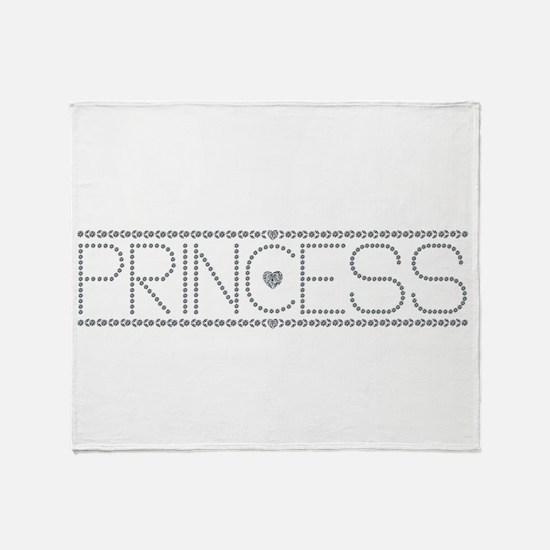I'm a Princess Throw Blanket
