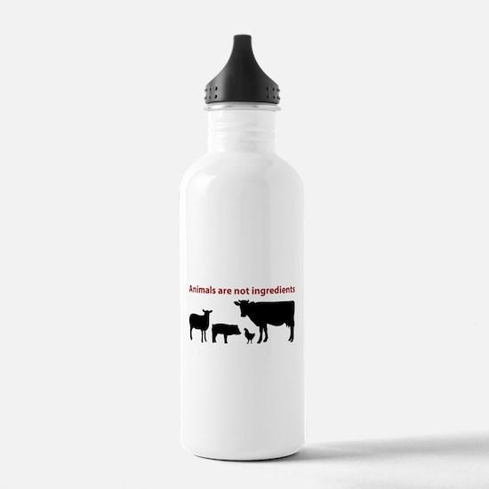 Funny Vegetarian Water Bottle