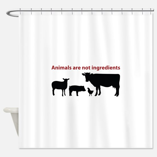 Cute Ingredients Shower Curtain