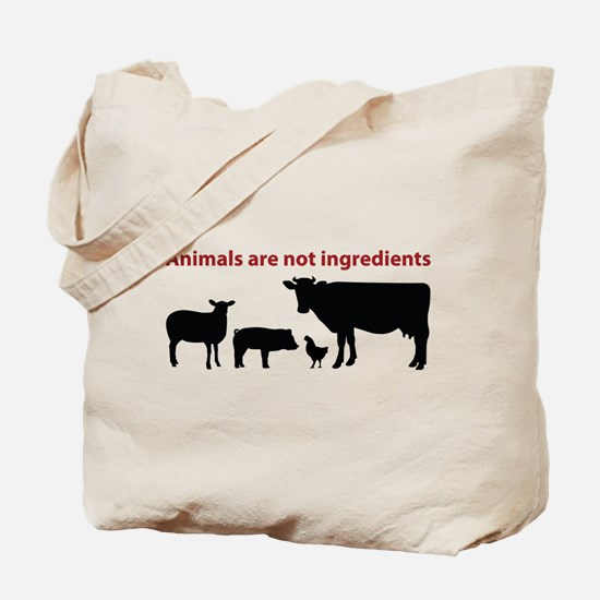 Cute Animal cruelty Tote Bag
