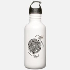 Henna Circle Water Bottle