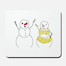 Summer Snowmen Mousepad