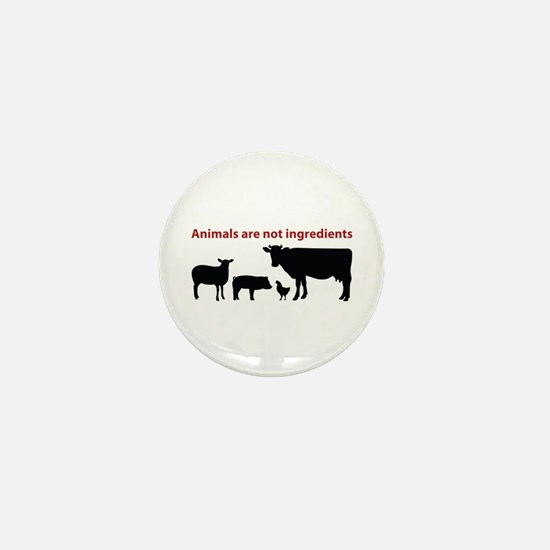 Cute Animal rights Mini Button (10 pack)