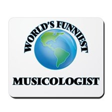 World's Funniest Musicologist Mousepad