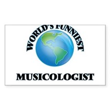 World's Funniest Musicologist Decal