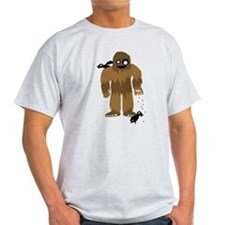 Cute Bigfoot love T-Shirt