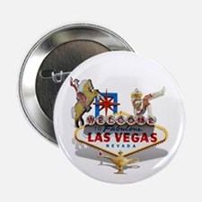 """Las Vegas Welcome Sign 2.25"""" Button (10 pack)"""