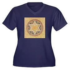 STAR OF DAVID - JEWISH STAR Plus Size T-Shirt