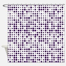 Dot Explosion Shower Curtain