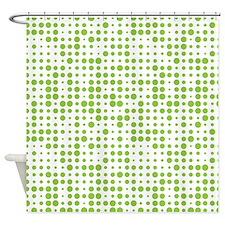 Dot Explosion Shower Curtain