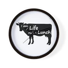 Unique Vegetarianism Wall Clock