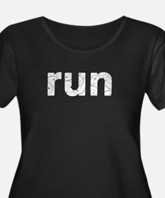 run Plus Size T-Shirt