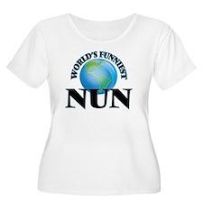 World's Funniest Nun Plus Size T-Shirt