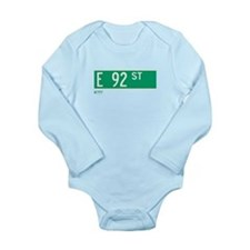 Cute E news Long Sleeve Infant Bodysuit