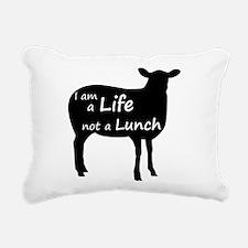 Unique Vegetarian Rectangular Canvas Pillow