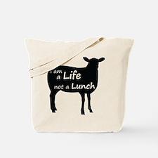 Funny Animal cruelty Tote Bag