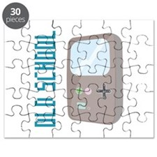Old School Gameboy Puzzle