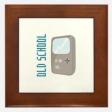 Old School Gameboy Framed Tile