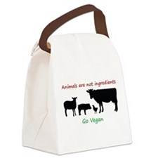 Cute Cruelty free Canvas Lunch Bag
