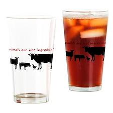 Cool Cruelty free Drinking Glass