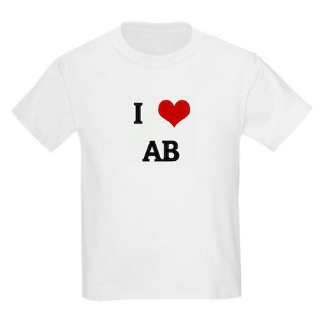 I Love AB Kids Light T-Shirt