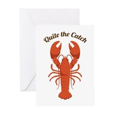 Quite the Catch Greeting Cards