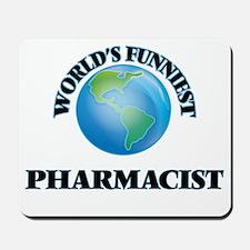 World's Funniest Pharmacist Mousepad