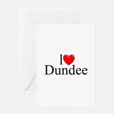 """I Love Dundee"" Greeting Cards (Pk of 10)"