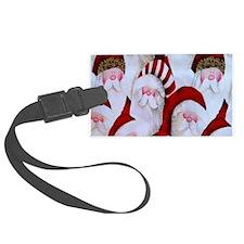 Santa Claus Luggage Tag