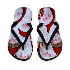 Santa Claus Flip Flops