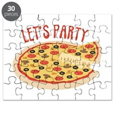 Lets Party Pizza Puzzle