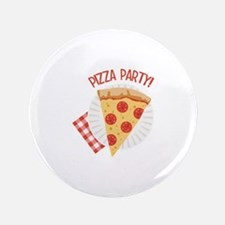 "Pizza Party 3.5"" Button"