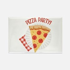 Pizza Party Magnets
