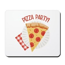 Pizza Party Mousepad