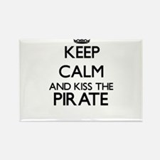 Keep calm and kiss the Pirate Magnets