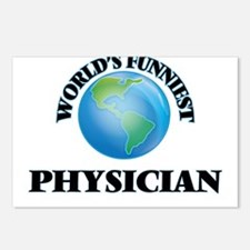 World's Funniest Physicia Postcards (Package of 8)