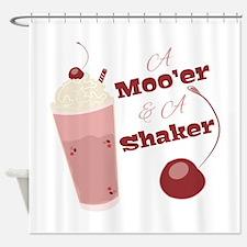 A Moo'er & A Shaker Shower Curtain