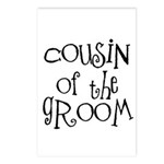 Cousin of the Groom Postcards (Package of 8)