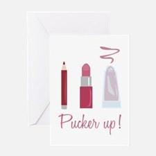 Pucker Up Greeting Cards