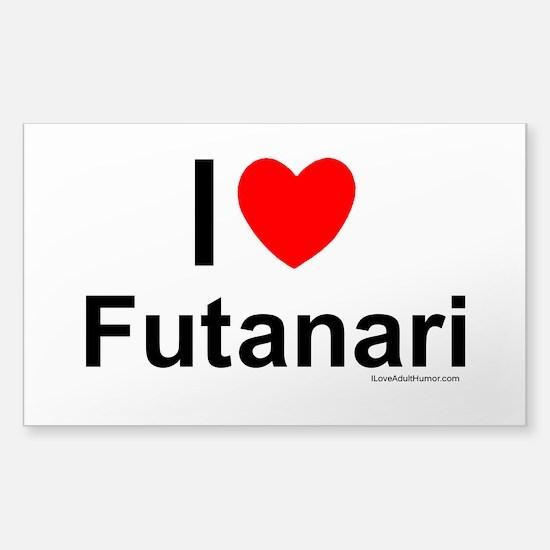 Futanari Sticker (Rectangle)