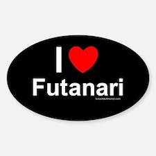 Futanari Sticker (Oval)