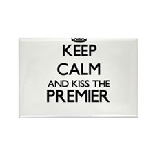 Keep calm and kiss the Premier Magnets