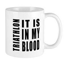 Triathlon it is in my blood Mug