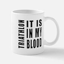 Triathlon it is in my blood Mug