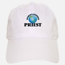 World's Funniest Priest Baseball Baseball Cap