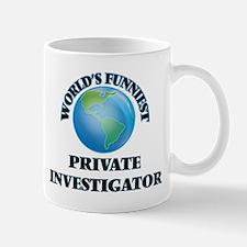 World's Funniest Private Investigator Mugs