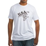 Urban USA Eagle Fitted T-Shirt
